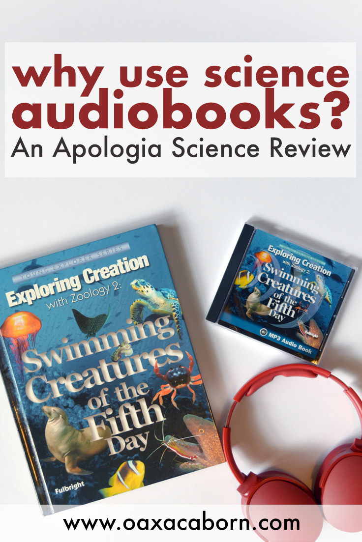 Pin image for Why Use Science Audiobooks? An Apologia Science Review of Zoology 2 Audio MP3 CD, by the Oaxacaborn blog