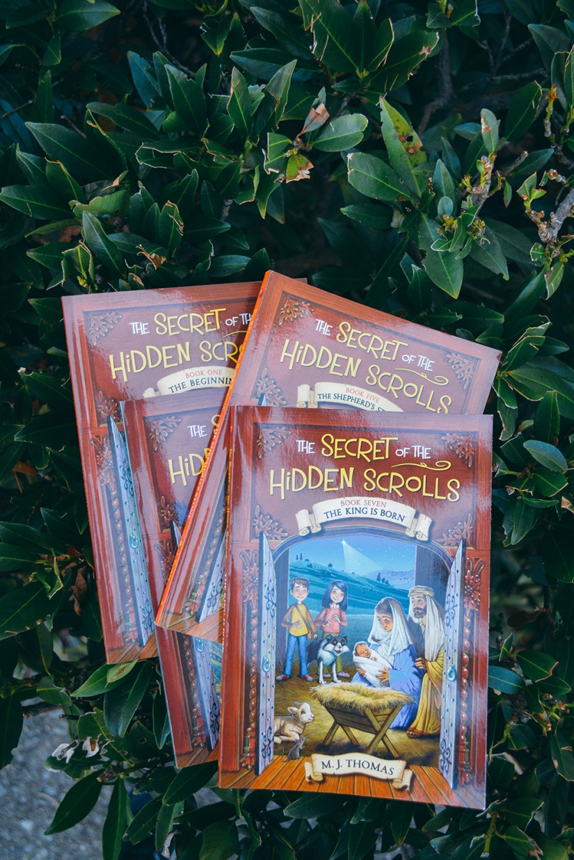 Secret of the Hidden Scrolls Book Series Recommendation Gift Ideas Stocking Stuffers