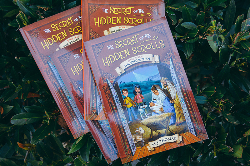 FB Image for Secret of the Hidden Scrolls Book Series Recommendation Gift Ideas Stocking Stuffers