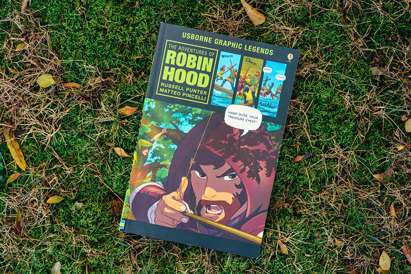 FB IMAGE: Using Graphic Novels (like Robin Hood!) in your Homeschool: A Timberdoodle Review