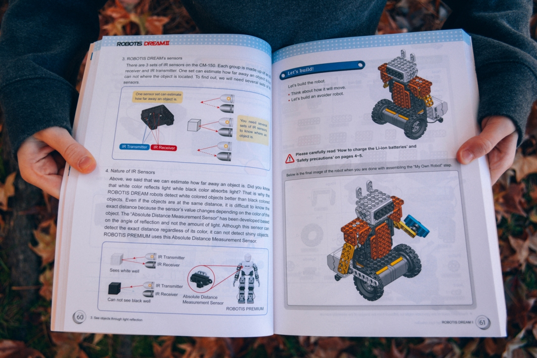 Homeschool Robotics: Robotis Dream 2.0 Review, available at Timberdoodle