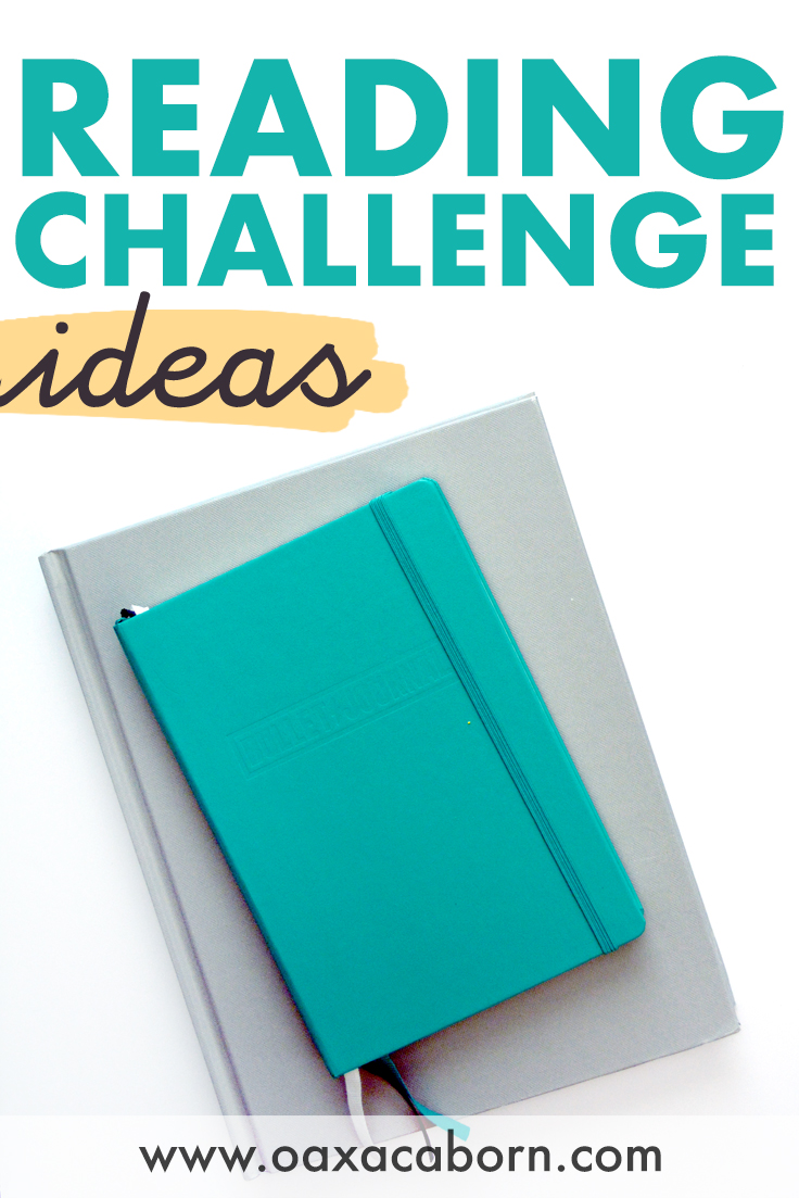 PIN for reading challenge ideas for 2020