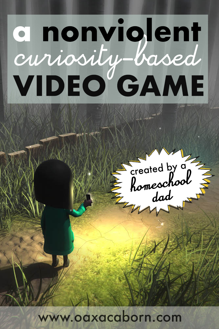 A nonviolent video game for homeschool kids