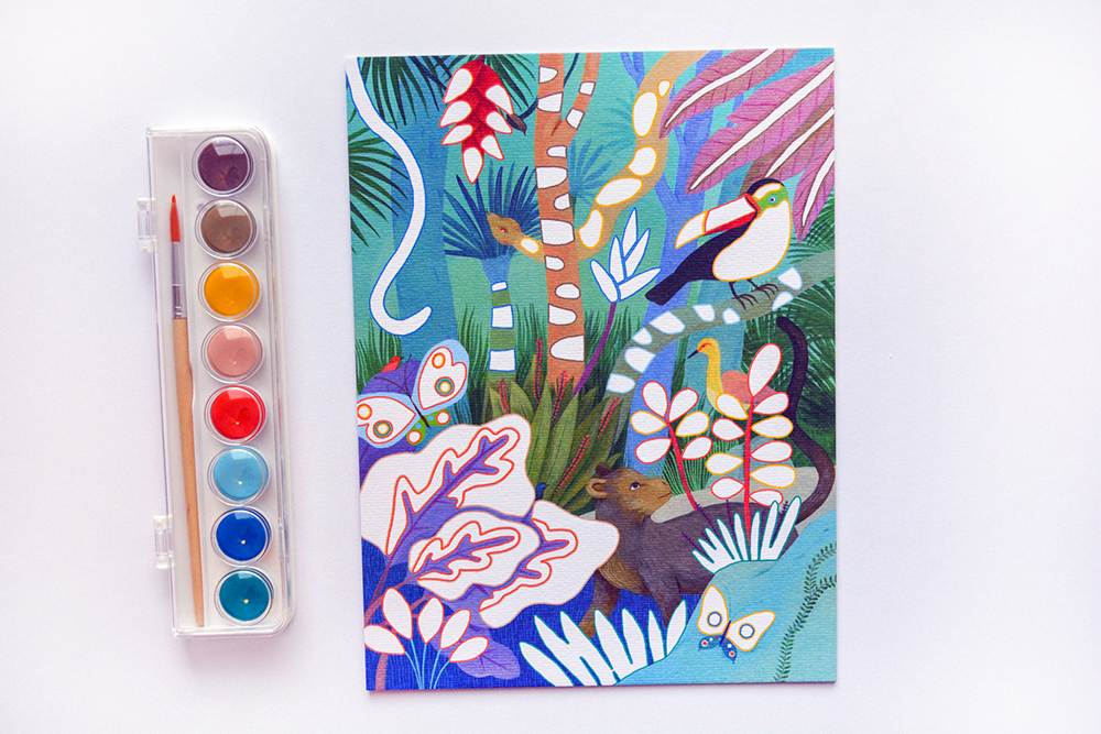'Natural World Workshop' Gouache Painting Review