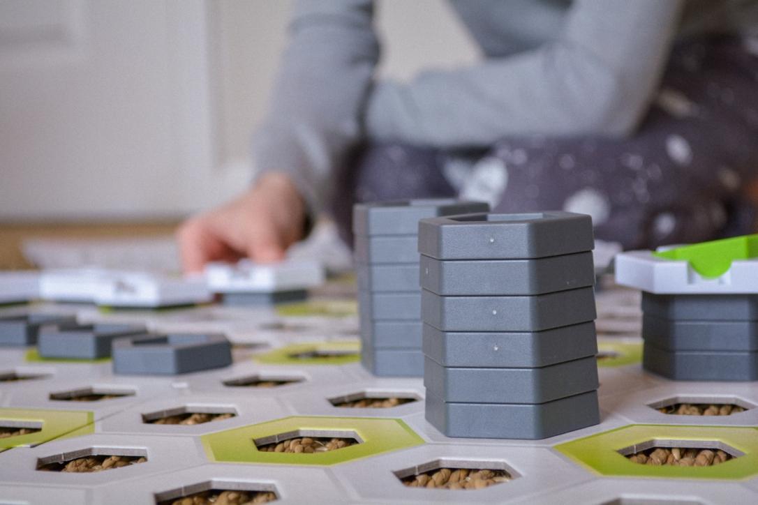 GraviTrax Review: Homeschool STEM Marble Run