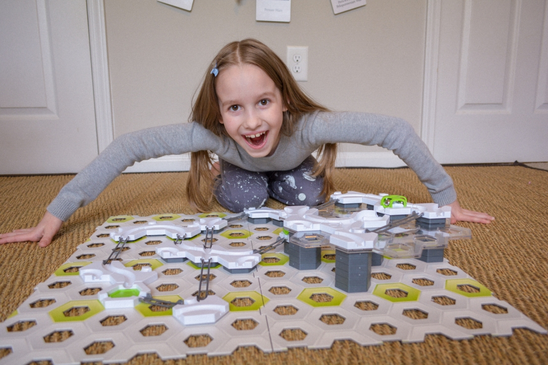 GraviTrax Review: Homeschool STEM Marble Run