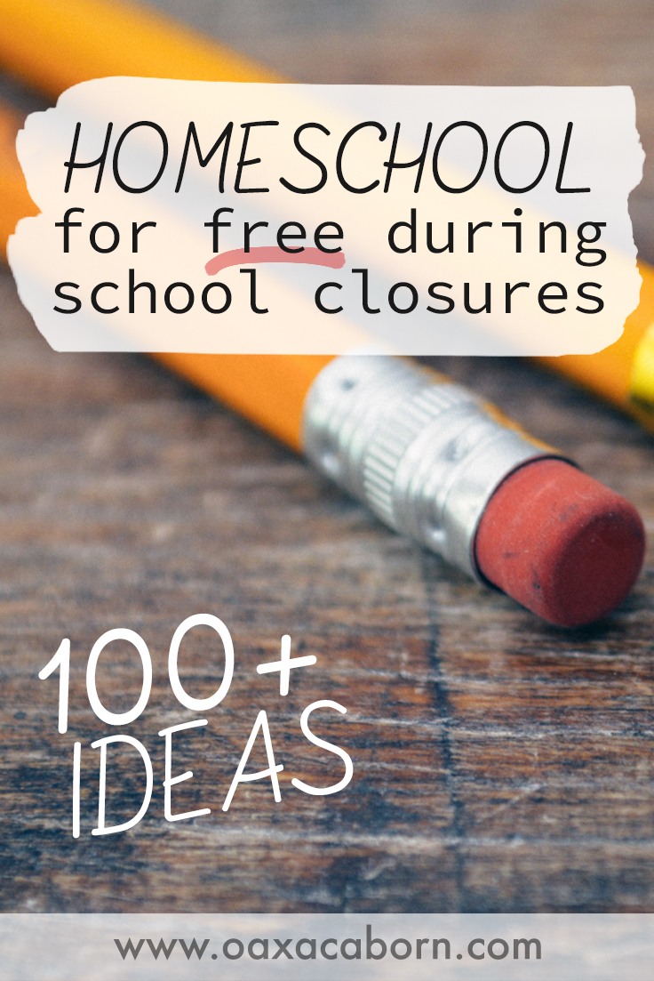 100+ FREE Websites to Help You Learn at Home While Schools Are Closed (or Homeschool for the Rest of the Year!)