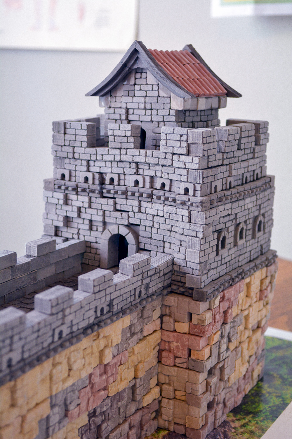 Great Wall of China project for kids: Mini Bricks Timberdoodle homeschool review