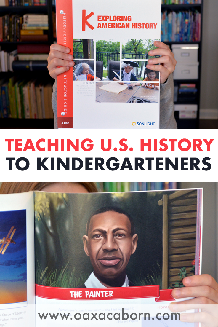 Sonlight's New Kindergarten American History Curriculum!