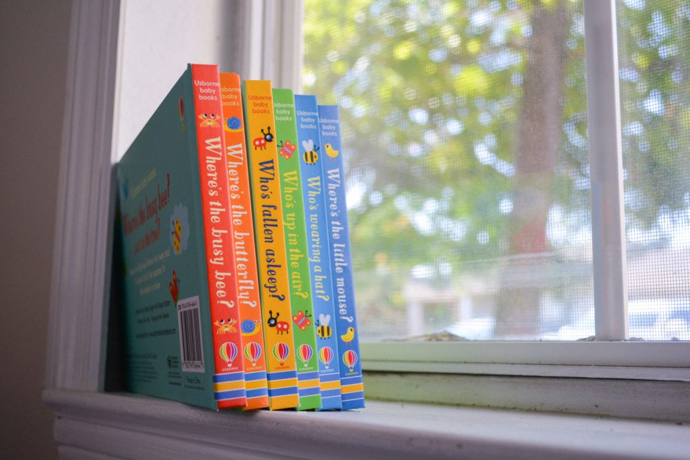 Best Usborne Board Books from Timberdoodle Tiny Tots