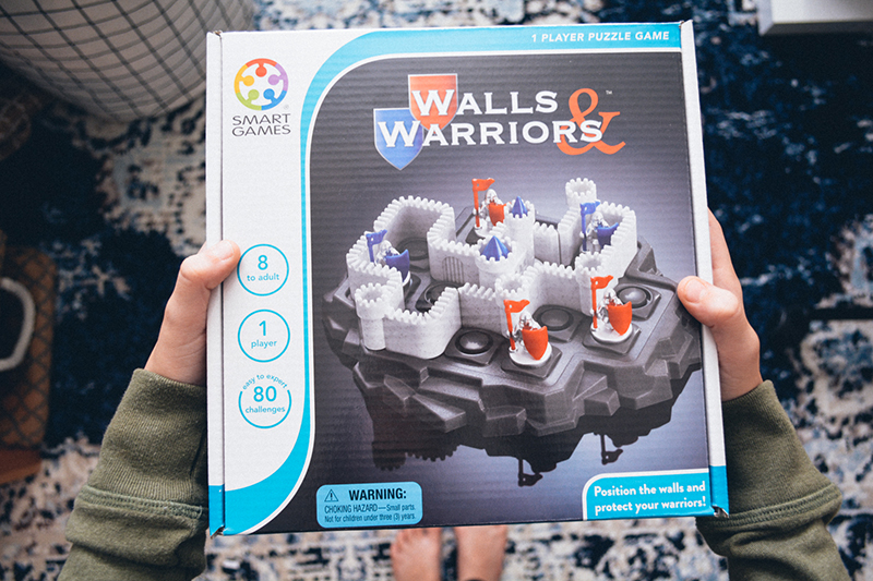 Games Kids Can Play Alone - Walls & Warriors Timberdoodle Review - FB