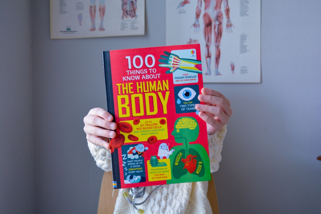 Non-Fiction Matters: 101 Things to Know About the Human Body Usborne Timberdoodle Book Review