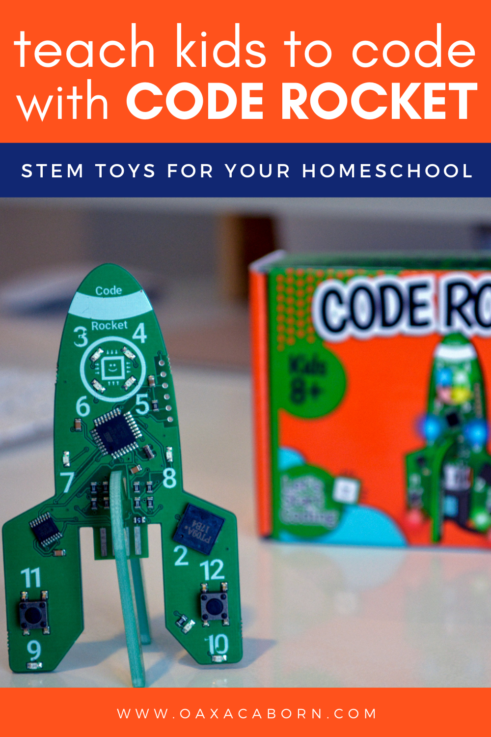 STEM Toys for Your Homeschool: Teach Kids to Code with Code Rocket